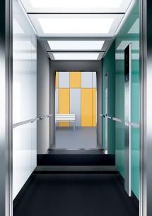 A24 дизайн на асансьорна кабина ThyssenKrupp Evolution 200