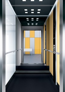 A25 дизайн на асансьорна кабина ThyssenKrupp Evolution 200