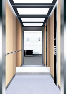 A30 дизайн на асансьорна кабина ThyssenKrupp Evolution 200