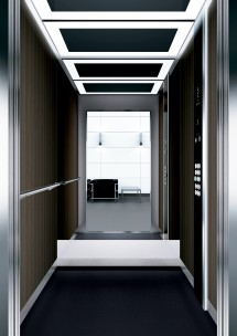 A32 дизайн на асансьорна кабина ThyssenKrupp Evolution 200