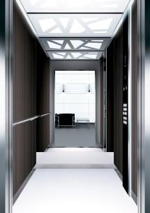 A33 дизайн на асансьорна кабина ThyssenKrupp Evolution 200