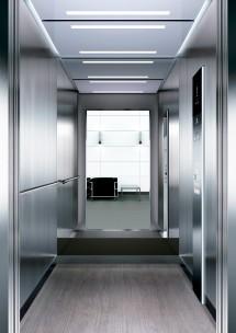 A34 дизайн на асансьорна кабина ThyssenKrupp Evolution 200