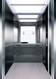 A35 дизайн на асансьорна кабина ThyssenKrupp Evolution 200