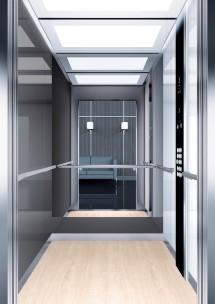 A40 дизайн на асансьорна кабина ThyssenKrupp Evolution 200
