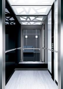 A41 дизайн на асансьорна кабина ThyssenKrupp Evolution 200