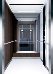 A42 дизайн на асансьорна кабина ThyssenKrupp Evolution 200