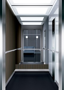 A43 дизайн на асансьорна кабина ThyssenKrupp Evolution 200