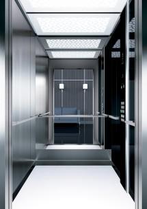 A44 дизайн на асансьорна кабина ThyssenKrupp Evolution 200