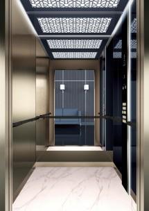 A45 дизайн на асансьорна кабина ThyssenKrupp Evolution 200
