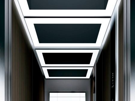 дизайн на таван Eclipse на асансьорна кабина Evolution 200 линия А
