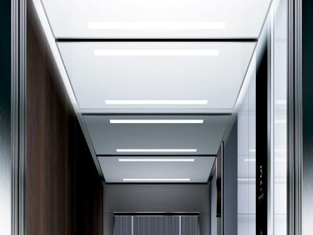дизайн на таван Rocket на асансьорна кабина Evolution 200 линия А