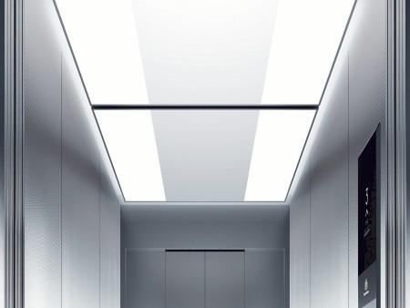 дизайн на таван Runaway на асансьорна кабина Evolution 200 линия А