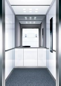 B01 дизайн на асансьорна кабина за асансьор ThyssenKrupp Evolution 200