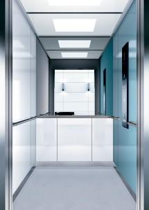 B02 дизайн на асансьорна кабина за асансьор ThyssenKrupp Evolution 200