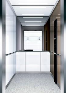 B03 дизайн на асансьорна кабина за асансьор ThyssenKrupp Evolution 200