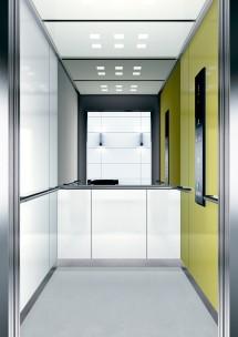 B04 дизайн на асансьорна кабина за асансьор ThyssenKrupp Evolution 200