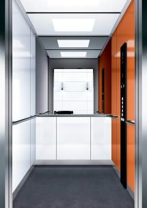 B05 дизайн на асансьорна кабина за асансьор ThyssenKrupp Evolution 200