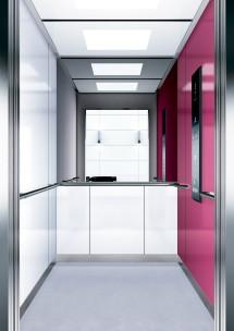 B06 дизайн на асансьорна кабина за асансьор ThyssenKrupp Evolution 200