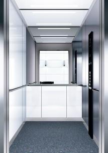 B07 дизайн на асансьорна кабина за асансьор ThyssenKrupp Evolution 200