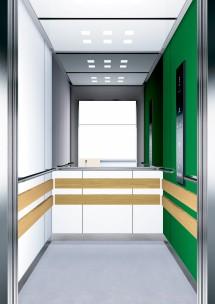 B10 дизайн на асансьорна кабина за асансьор ThyssenKrupp Evolution 200