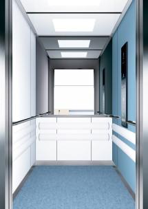 B11 дизайн на асансьорна кабина за асансьор ThyssenKrupp Evolution 200
