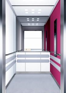B12 дизайн на асансьорна кабина за асансьор ThyssenKrupp Evolution 200