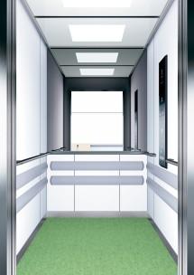 B13 дизайн на асансьорна кабина за асансьор ThyssenKrupp Evolution 200