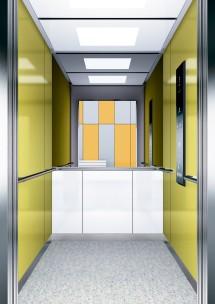 B20 дизайн на асансьорна кабина за асансьор ThyssenKrupp Evolution 200