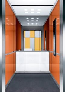B21 дизайн на асансьорна кабина за асансьор ThyssenKrupp Evolution 200