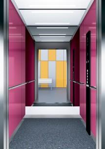 B22 дизайн на асансьорна кабина за асансьор ThyssenKrupp Evolution 200