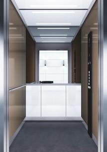 B31 дизайн на асансьорна кабина за асансьор ThyssenKrupp Evolution 200