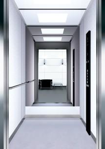B33 дизайн на асансьорна кабина за асансьор ThyssenKrupp Evolution 200