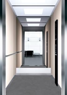 B34 дизайн на асансьорна кабина за асансьор ThyssenKrupp Evolution 200