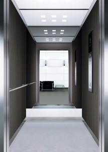 B35 дизайн на асансьорна кабина за асансьор ThyssenKrupp Evolution 200