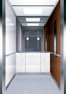 B40 дизайн на асансьорна кабина за асансьор ThyssenKrupp Evolution 200