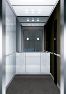 B43 дизайн на асансьорна кабина за асансьор ThyssenKrupp Evolution 200