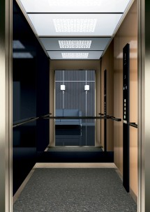 B45 дизайн на асансьорна кабина за асансьор ThyssenKrupp Evolution 200