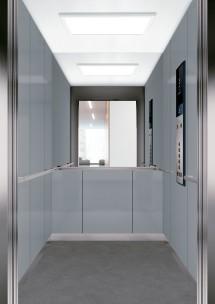 C01 дизайн на асансьорна кабина за асансьор ThyssenKrupp Evolution 200