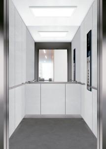 C03 дизайн на асансьорна кабина за асансьор ThyssenKrupp Evolution 200