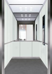 C04 дизайн на асансьорна кабина за асансьор ThyssenKrupp Evolution 200