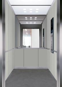 C05 дизайн на асансьорна кабина за асансьор ThyssenKrupp Evolution 200