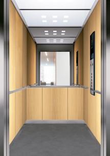 C06 дизайн на асансьорна кабина за асансьор ThyssenKrupp Evolution 200