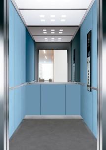 C07 дизайн на асансьорна кабина за асансьор ThyssenKrupp Evolution 200