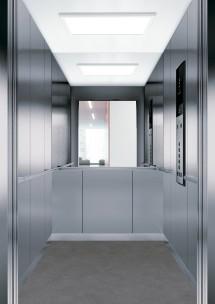 C10 дизайн на асансьорна кабина за асансьор ThyssenKrupp Evolution 200