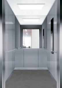 C11 дизайн на асансьорна кабина за асансьор ThyssenKrupp Evolution 200