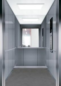 C12 дизайн на асансьорна кабина за асансьор ThyssenKrupp Evolution 200