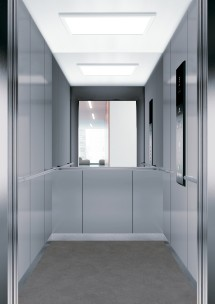 C13 дизайн на асансьорна кабина за асансьор ThyssenKrupp Evolution 200