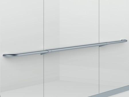 парапет за кабините на асансьор Evolution 200 - сребърен гланц