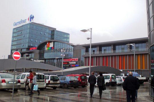 търговски център The Mall снимка сграда