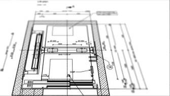 схема за изчисление на асансьорна шахта